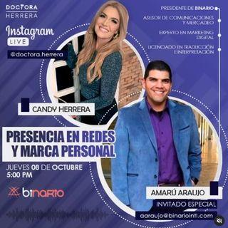 PRESENCIA EN REDES Y MARCA PERSONAL! Cuéntale tu caso de la Dra Herrera con Amarú Araujo