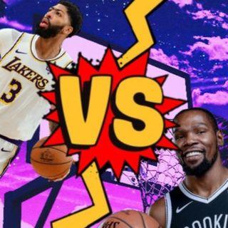 Anthony Davis vs Kevin Durant
