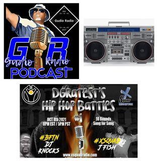 Gudio Radio Presents : DGratest 2021 Hip Hop Battle Vol 1 JFish The Microwave #XSquad vs DJ MadKnocks Da Crown Holder #BFTN