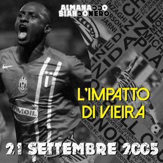 21 settembre 2005 - L'impatto di Vieira
