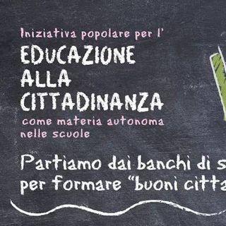Educazione civica nelle scuole... una proposta di legge da firmare! Incontro con Valentina Tomasi.
