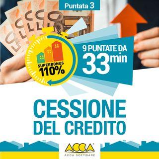 Episodio 3: cessione del credito e sconto in fattura