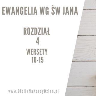 BNKD Ewangelia św. Jana rozdział 4 wersety 10-15