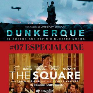 ESPECIAL CINE. Dunkerque y The Square + Entrevista a C.J. NAVAS