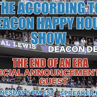 The According to Deacon Del Happy Hour