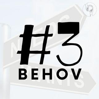 Tredje trin: Behov