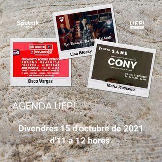 Agenda UEP! Mallorca del 15 d'Octubre de 2021