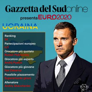 """Euro 2020 Girone C, """"Gazzetta presenta"""": Ucraina nel nome del 'figlioccio' del colonnello"""