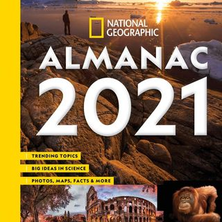 Susan Tyler Hitchcock discusses #NatGeo's 2021 Almanac on #ConversationsLIVE ~ @NATGEO #environment #history @hitchbooks