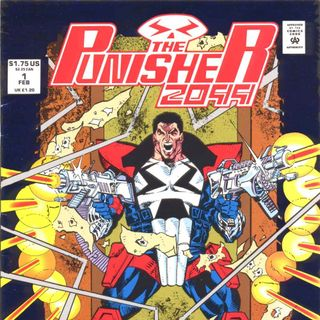 "Unspoken Issues #28 - ""Punisher 2099"" #1"