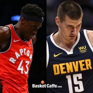 Raptors e Nuggets, abbiamo un problema? Plus: i 62 di Curry, i Cavs e John Wall