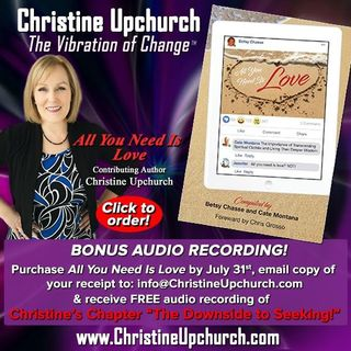 Transcending Spiritual Cliches with guest Christine Upchurch!