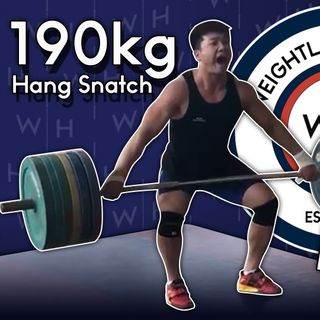 WL News | Heaviest Hang Snatch Ever & Koha Retires