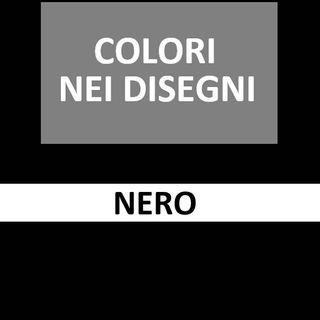60 - Nero - Disegni, Kandinsky, musica, test dei colori di Luscher