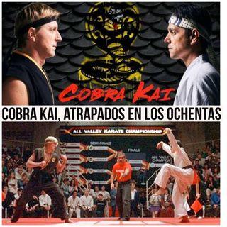 Episodio 22 Cobra Kai, atrapados en los 80