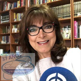 La Dra. Rosa Eugenia Chávez Calderón, hablando sobre los cuidados durante y después del coronavirus.