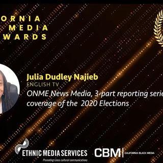 California Ethnic Media Award - Julia Dudley Najieb's Acceptance Speech