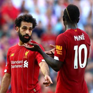 PATRONS: 'No problem' between Salah & Mane - Gerrard, Gabriel (49 Mins)