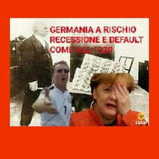 Episodio 22 - Lambrenedetto XVI spiegami riguardo la crisi economica tedesca ed il rischio di cadere in recessione e default della Germania!