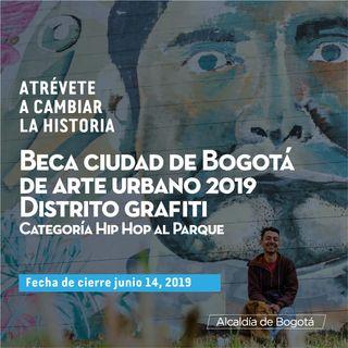 Ojo, Ampliación becas artes plásticas en Bogotá