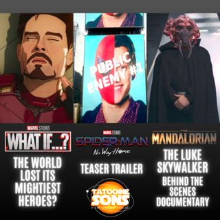 Spiderman No Way Home Trailer Nerd Out!