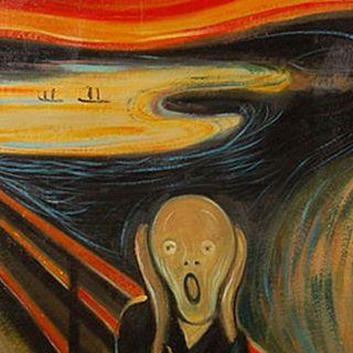 RRi Il Racconto dell'arte Edvard Munch con Chiara Periti e L'urlo di Munch a mare di  Anna Rizzi