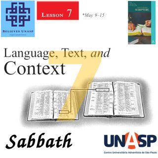 643-Sabbath School - 9.May Sabbath