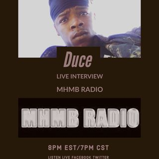 Live talk session with Dj Del.G & Interview with Duce