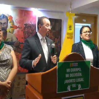PRD presenta su iniciativa sobre despenalización del aborto