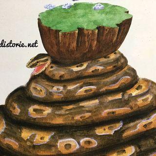 Il cacciatore di serpenti e il pitone africano. Una favola dall'Africa