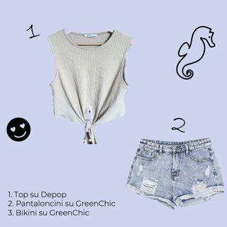5 outfit per l'estate e i trend per i più giovani - Green Fashion Teen