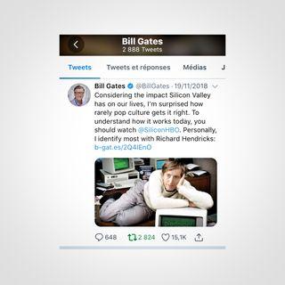 Bill Gates y la serie Silicon Valley de HBO