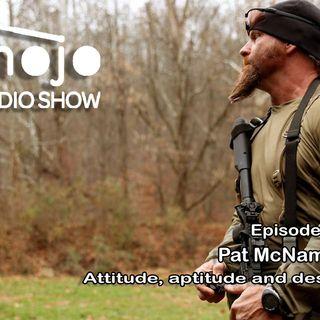 Pat McNamara on attitude, aptitude and desire!