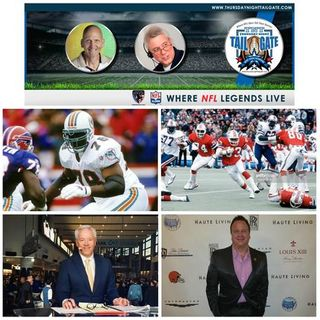 NFL Legends Richmond Webb & Tony Collins + Paul Alexander & James Allen Join Us