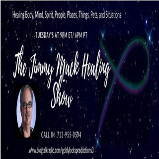 The Jimmy Mack Healing Show ~ Special Guest: Laura Romeiro ~ 9April2019