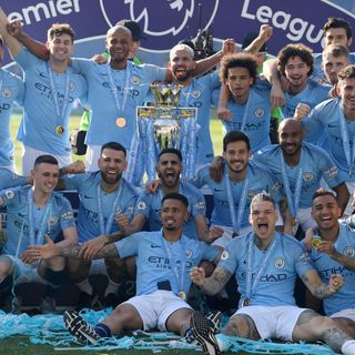 City retain Premier League title!