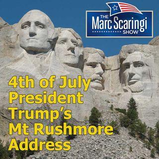 2020-07-04 TMSS President Trump's Mt Rushmore Address