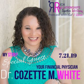 My Story  Dr. Cozette M.White