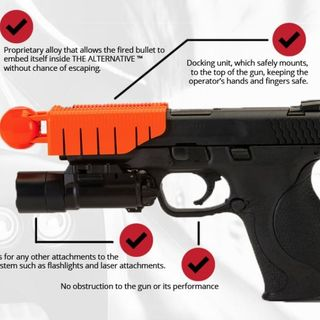 Ferguson PD less lethal gun attachment