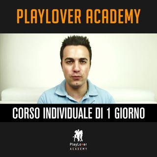 215 - Corso Individuale PlayLover 1 Giorno