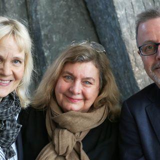 Gabriella Ahlström, Jonathan Lindström och Annika Sundberg