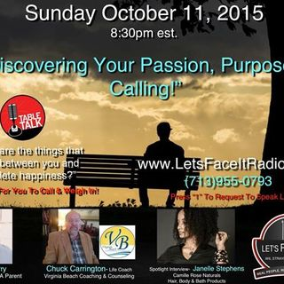 Discovering your Passion, Purpose and Calling!
