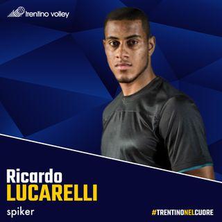 Lucarelli, le prime parole da giocatore di Trentino Volley