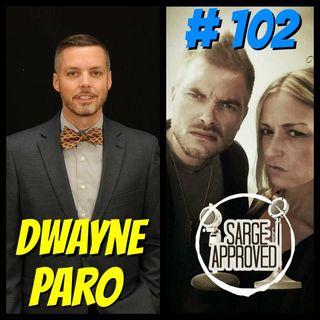 #102 Dwayne Paro