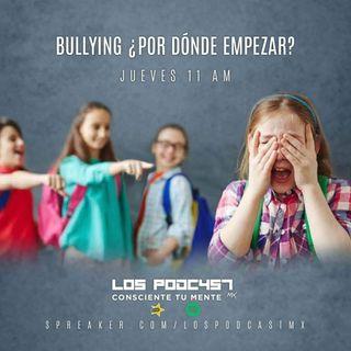 30. Bullying. ¿Por dónde empezar?