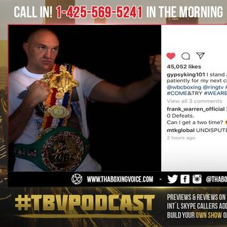 ☎️Tyson Fury's Cryptic Post🧐MTK's UNDISPUTED Comment🤔Bob Arum's Financial Break Down💰Explained