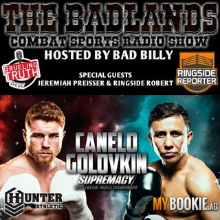The Badlands Combat Sports Radio Show (September 16, 2017)