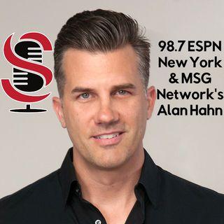 99. Alan Hahn of 98.7 ESPN New York & MSG Network