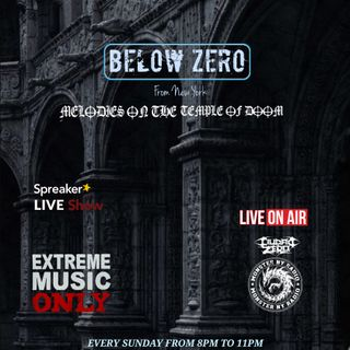 BELOW ZERO - MELODIES ON THE TEMPLE OF DOOM