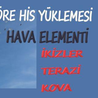 Hava Elementi (İkizler-Terazi-Kova) His Yüklemesi